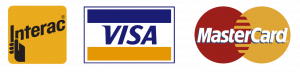 we take visa, mastercard and debit (all three images)