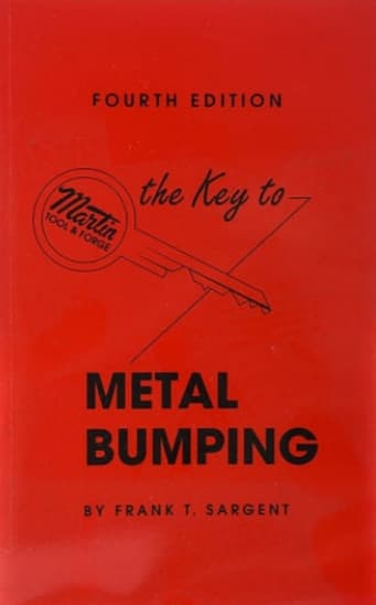 """Frank T. Sargent's book titled """"The Key To Metal Bumping"""""""